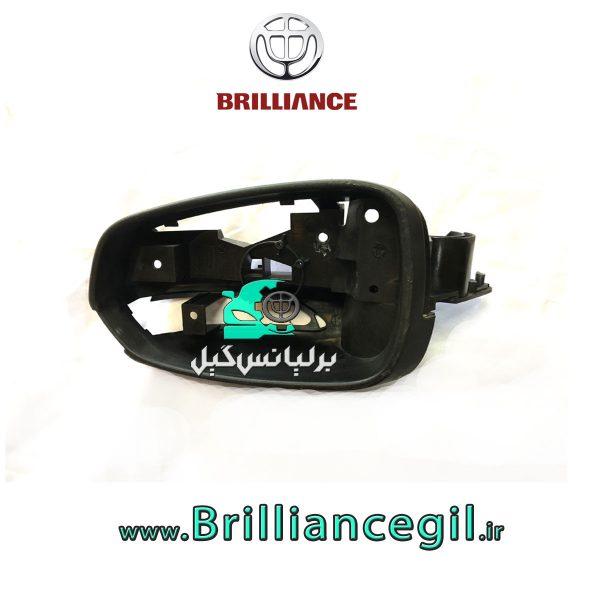 قاب مشکی داخل آینه بغل برلیانس H330 H320