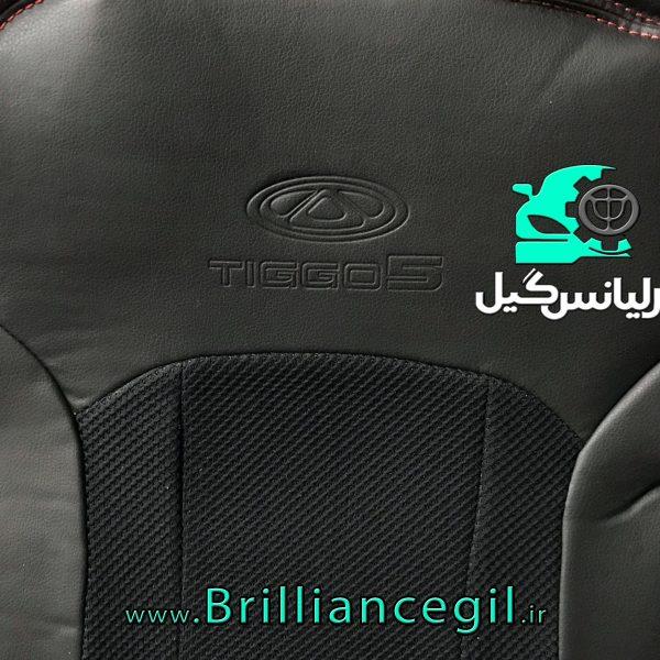 روکش صندلی تیگو 5 چرم خارجی