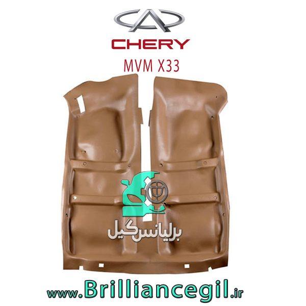 کفپوش یکپارچه چرمی ام وی ام X33 بابل